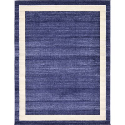 Beverly Blue/Beige Area Rug Rug Size: 9 x 12