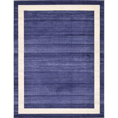 Beverly Blue/Beige Area Rug Rug Size: 8 x 11