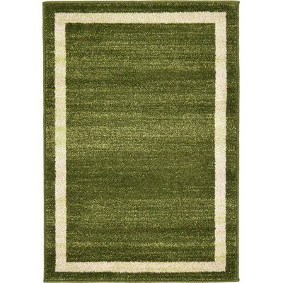 Christi Green/Beige Area Rug Rug Size: Rectangle 22 x 3
