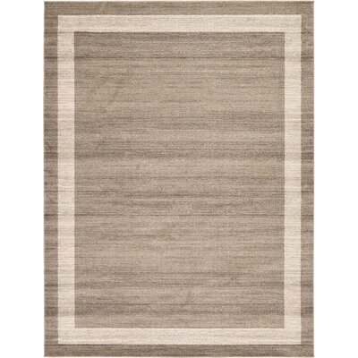 Beverly Brown/Beige Area Rug Rug Size: 9 x 12