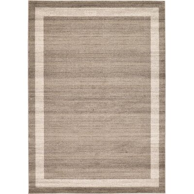 Beverly Brown/Beige Area Rug Rug Size: 8 x 114
