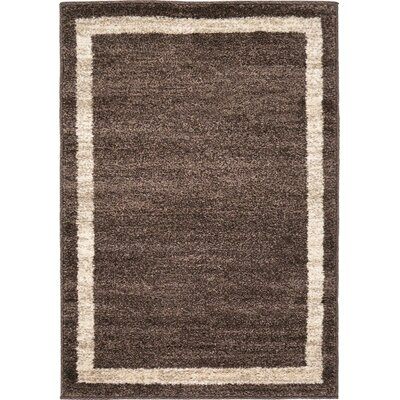 Beverly Brown/Beige Area Rug Rug Size: 22 x 3