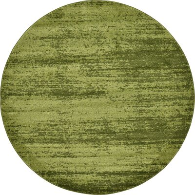 Christi Green Area Rug Rug Size: 8 x 11