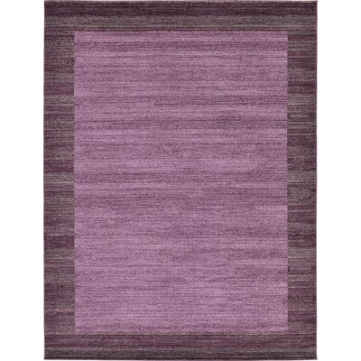 Beverly Purple Area Rug Rug Size: 9 x 12