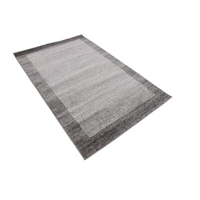 Christi Gray Area Rug Rug Size: Rectangle 7 x 10