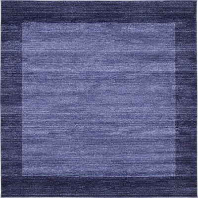 Christi Blue Area Rug Rug Size: Square 8