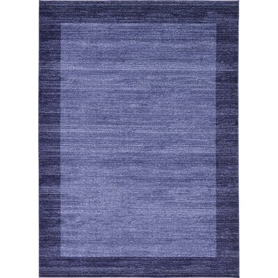 Beverly Blue Area Rug Rug Size: 8 x 114