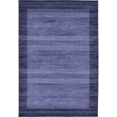 Christi Blue Area Rug Rug Size: Rectangle 6 x 9