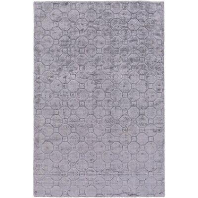 Napa Hand-Loomed Medium Gray Area Rug Rug size: 6 x 9