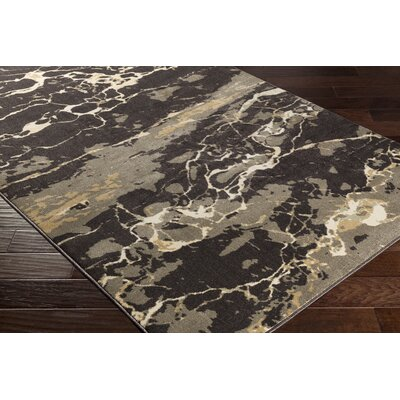 Trask Brown Area Rug Rug Size: Rectangle 2 x 33