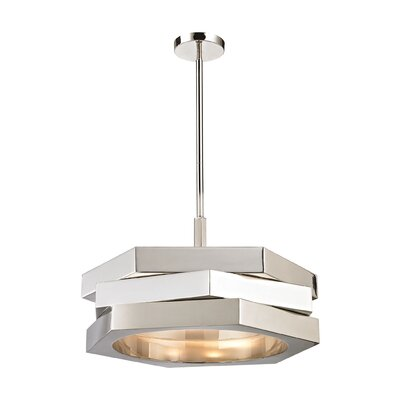 Caroli 3-Light Drum Pendant