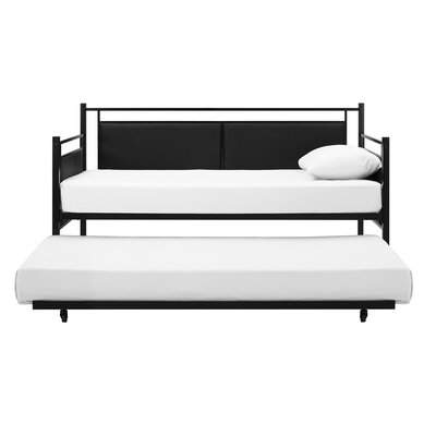 Petaluma Metal and Upholstered Daybed with Trundle