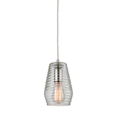 Denissa 1-Light Mini Pendant Finish: Polished Chrome