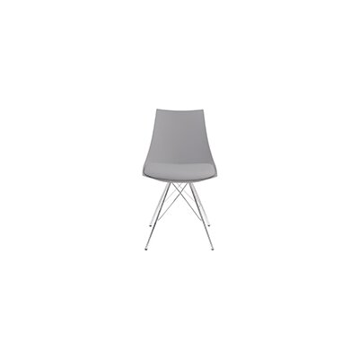 Oxnard Solid Wood Dining Chair (Set of 2) Finish: Gray