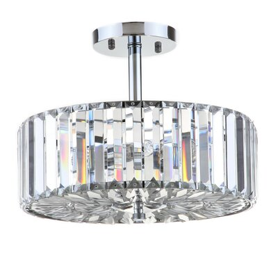 Anneke 3-Light Semi Flush Mount