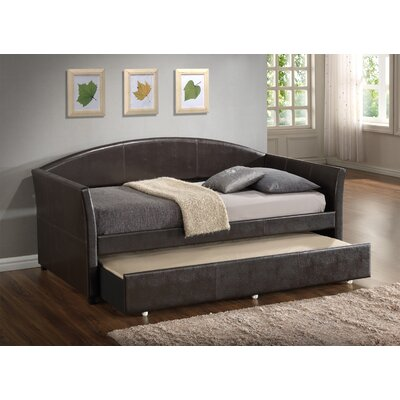 Ridgecrest Daybed with Trundle Color: Dark Brown