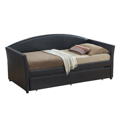 Ridgecrest Daybed with Trundle Color: Black
