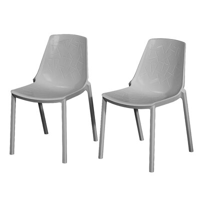 Allegheny Dragon Fly Side Chair Finish: Gray