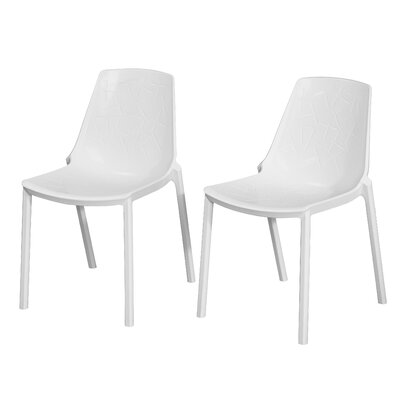 Allegheny Dragon Fly Side Chair Finish: White