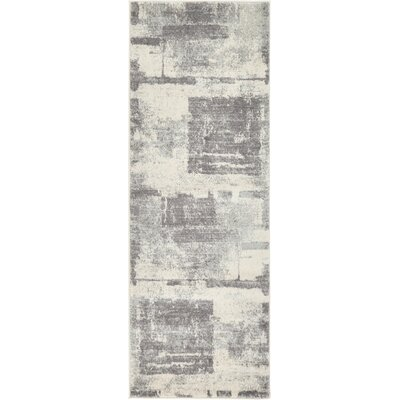 Luxton Ivory Area Rug Rug Size: Runner 22 x 6