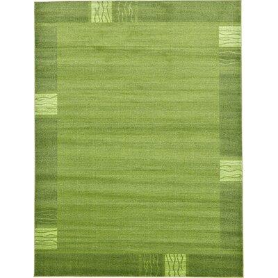 Tiburon Light Green Area Rug Rug Size: 9 x 12
