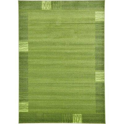 Tiburon Light Green Area Rug Rug Size: 7' x 10'