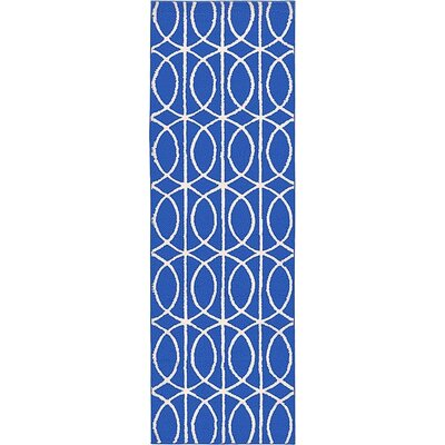 Mcgowen Blue Area Rug Rug Size: Runner 33 x 10
