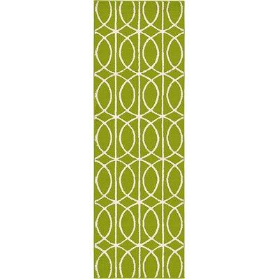 Dunston Green Area Rug Rug Size: Runner 33 x 10