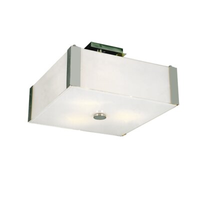 Daleview 3-Light Semi Flush Mount