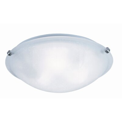 Samee 3-Light Flush Mount Finish: Brushed Nickel