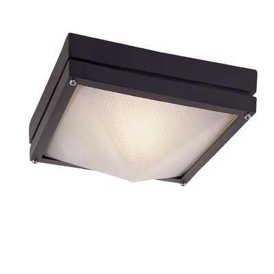 Jeni 1-Light Flush Mount Finish: Black