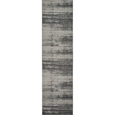 Croslin Gray Area Rug Rug Size: Runner 27 x 10