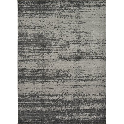Croslin Gray Area Rug Rug Size: Rectangle 6 x 9
