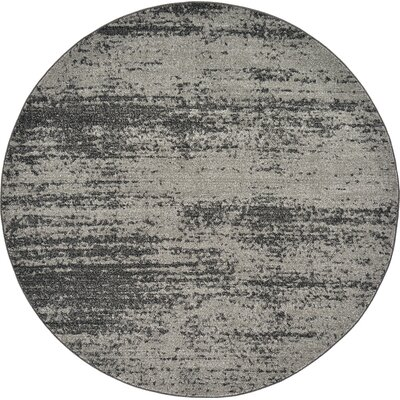 Croslin Gray Area Rug Rug Size: Rectangle 2 x 3