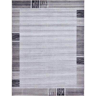 Croslin Light Gray Area Rug Rug Size: 7 x 10