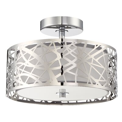 Colyn 2-Light Semi Flush Mount