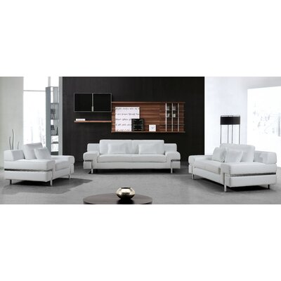 Coalpit Heath Upholstered Leather Sofa Set