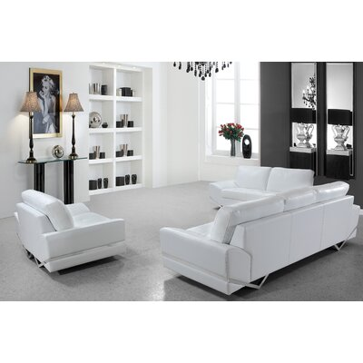 Coalpit Heath Leather Vanity Sofa Set