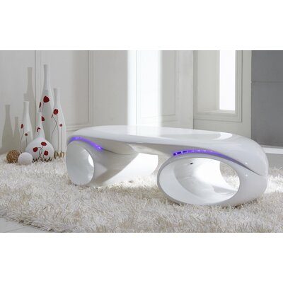 Clower Fiberglass Coffee Table