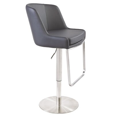 Clower Bar Stool with Square Seat