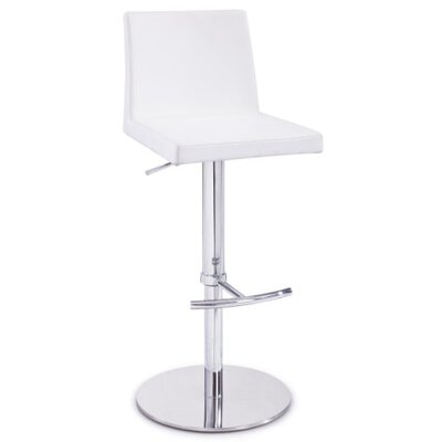 Clower Adjustable Height Bar Stool