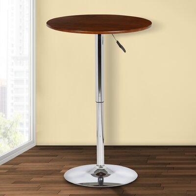 Brabham Adjustable Height Pub Table