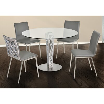Bonetti Glass Top Dining Table