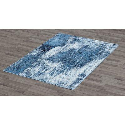 Callie Blue Area Rug Rug Size: 4 x 6