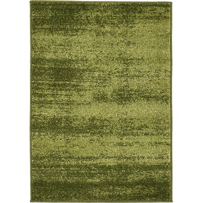 Elaina Green Area Rug