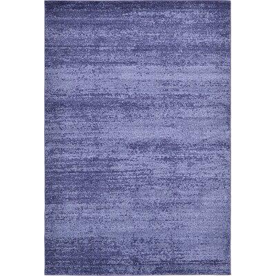 Elaina Navy Blue Area Rug