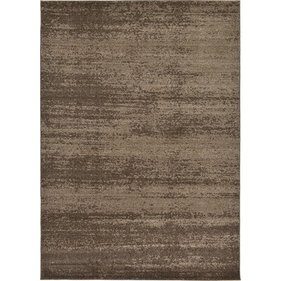 Elaina Brown Area Rug Rug Size: 33 x 53