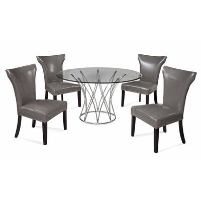 Metzger 5 Piece Dining Set