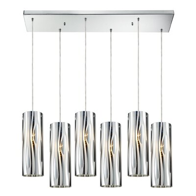 David 6-Light Kitchen Island Pendant