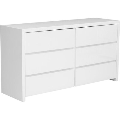 Clower 6 Drawer Dresser